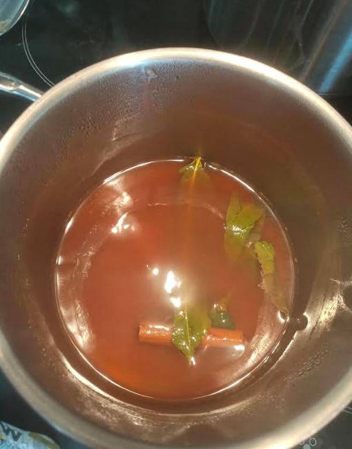zelf atjar maken acar bloemkoolroosjes recept bloemkool uit eigen moestuin wat maak je met bloemkool inleggen groentes inleggen fromseedtotable.nl