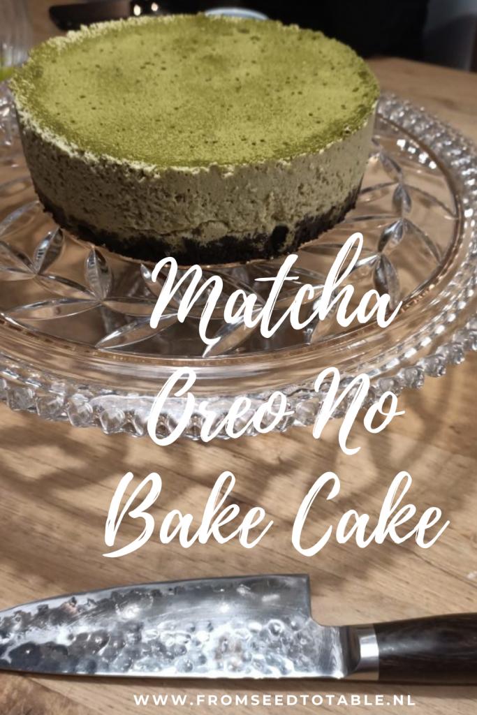matcha oreo no bake cake matcha oreo taart recept matcha fromseedtotable.nl japans recept japanse keuken