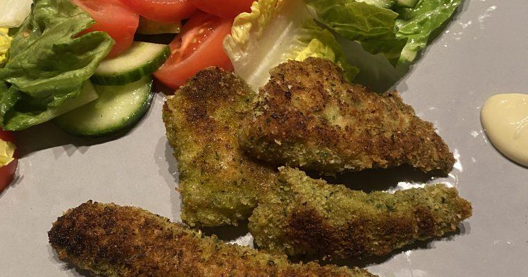 Recept voor heerlijke krokante kip met peterselie en een vleugje citroen naar een snel recept van Jamie Oliver
